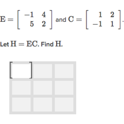 matrices worksheet with answers pdf