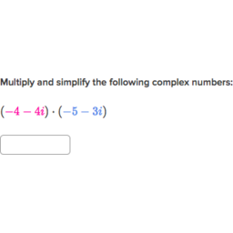Printables Multiplying Complex Numbers Worksheet multiply complex numbers practice khan academy