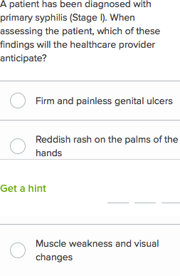 NCLEX-RN questions on sexually transmitted infections 1