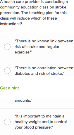 NCLEX-RN questions on stroke 1 (practice) | Khan Academy
