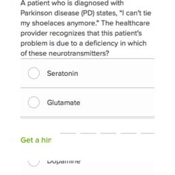 NCLEX-RN questions on Parkinson's disease 2 (practice) | Khan Academy