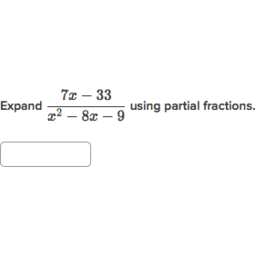 partial fraction expansion practice khan academy
