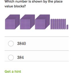 Place value blocks (practice) | Khan Academy