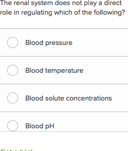 Renal system questions (practice) | Khan Academy