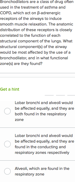 Respiratory System Questions Practice Khan Academy