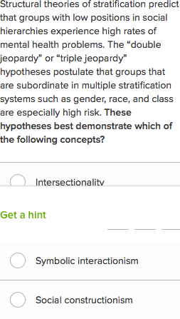 Social inequality questions (practice) | Khan Academy