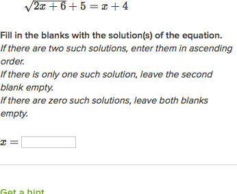 solving square root equations one solution video khan academy - Solving Radical Equations Worksheet
