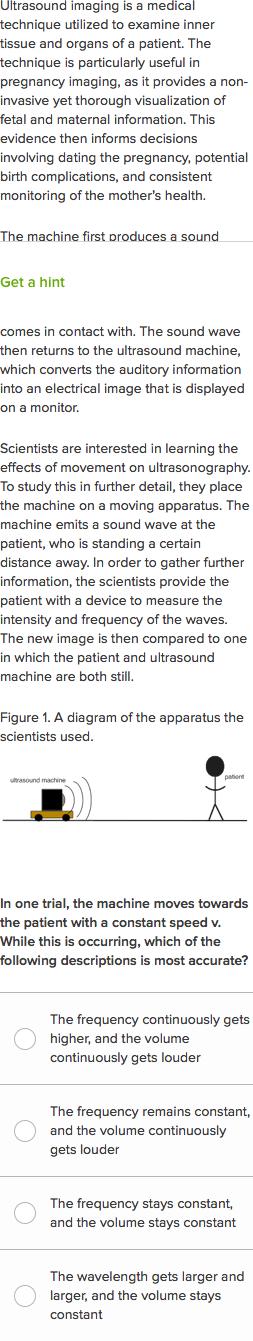 How Movements Influence An Ultrasound Practice Khan Academy