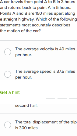 Speed and velocity questions (practice) | Khan Academy