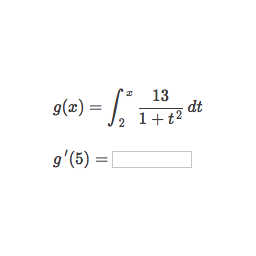 Finding derivative with fundamental theorem of calculus (practice ...