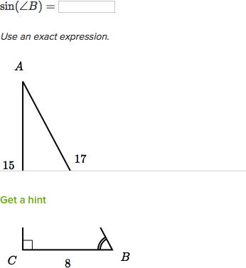 Intro To The Trigonometric Ratios Video Khan Academy