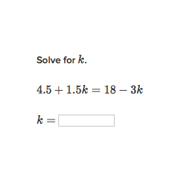 Equations with variables on both sides: decimals & fractions ...