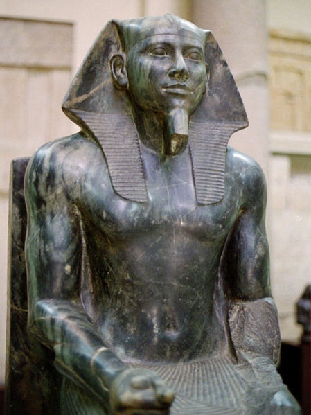 Khafre, Egyptian Museum, Cairo