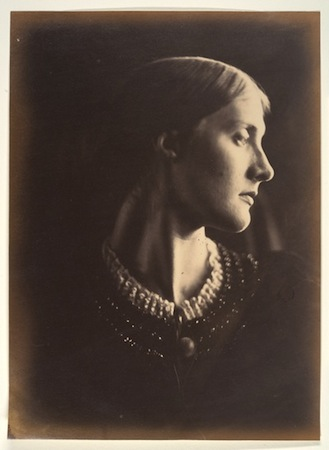 Julia Margaret Cameron, Mrs. Herbert Duckworth, 1867, albumen silver print from glass negative (Metropolitan Museum of Art)