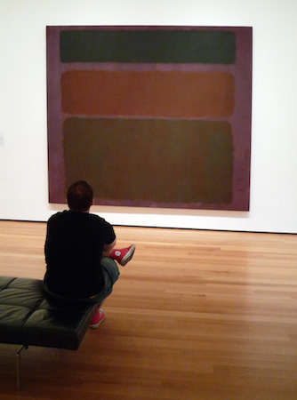 "Mark Rothko, No. 16 (Red, Brown, and Black), 1958. Oil on canvas, 8' 10 5/8"" x 9' 9 1/4"" (The Museum of Modern Art), photo: Steven Zucker (CC BY-NC-SA 2.0)"