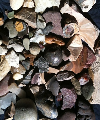 1dd06fdd8c89 Group of stones collected in Egypt showing the range of colors and textures  available to the