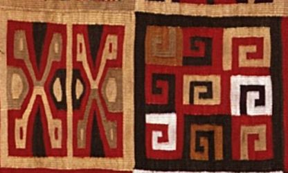All-T'oqapu Tunic, Inka, 1450–1540, camelid fiber and cotton, 90.2 x 77.15 cm (Dumbarton Oaks)