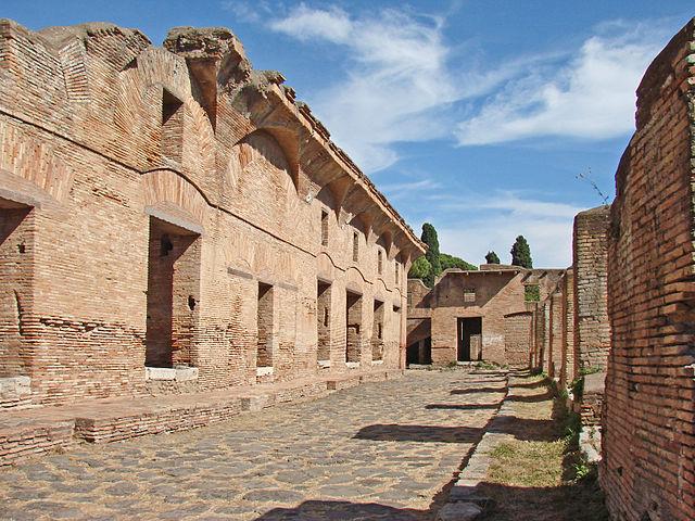 Insula Of Diana Ostia Antica Photo Jean Pierre Dalbéra Cc By
