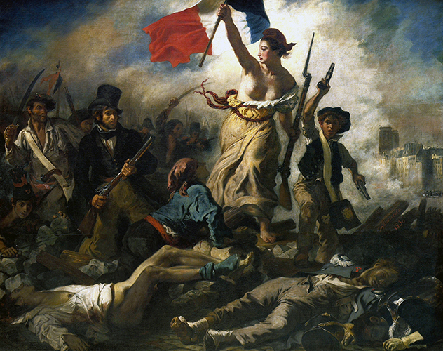 Liberty Leading The People By Delacroix Article Khan Academy