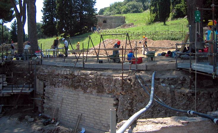 Contemporary excavation