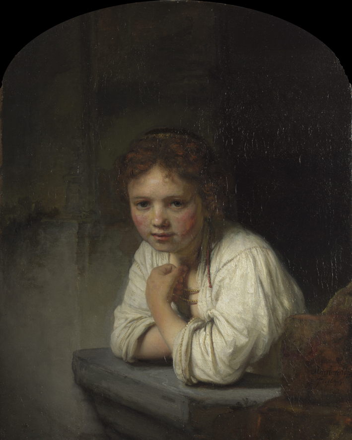 Rembrandt Girl At A Window Article Khan Academy