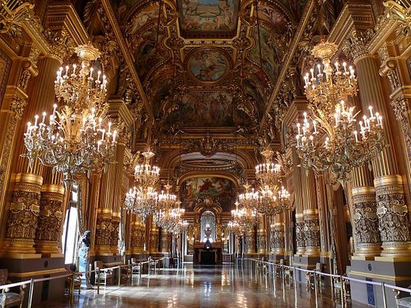 Opera House Foyer : Garnier paris opéra article khan academy