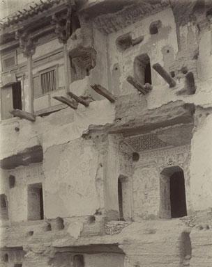 Photograph of Dunhuang.