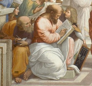 Image result for plato in painting