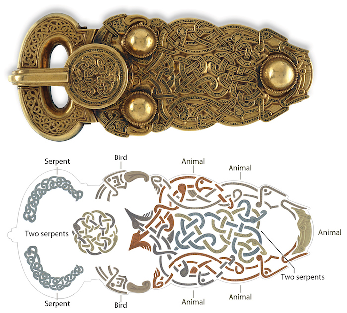 Decoding the great gold buckle from Sutton Hoo © Trustees of the British Museum