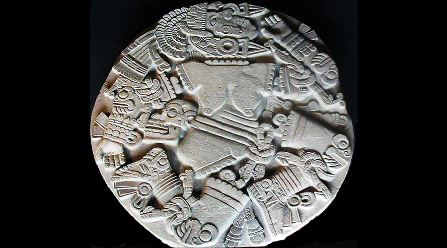 Calendar Stone Ap Art History : Templo mayor at tenochtitlan the coyolxauhqui stone and