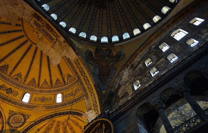 Hagia Sophia Dome, Semi-Dome and Cherubim, photo: Steven Zucker (CC BY-NC-SA 2.0)