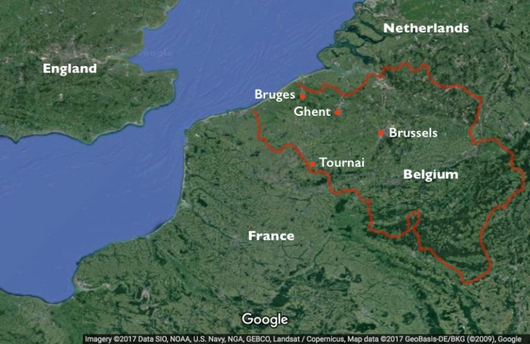 Map Of Northern France Belgium.Introduction To Fifteenth Century Flanders Article Khan Academy