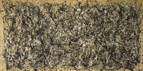 Jackson Pollock, One: Number 31, 1950, 1950, oil and enamel paint on unprimed canvas, 269.5 x 530.8 cm (The Museum of Modern Art, NY)