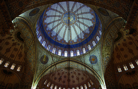 Dome and pendentives