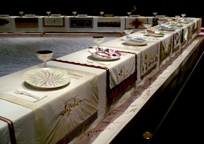 1970-2007 Judy Chicago and the Power of Popular Feminism The Dinner Party