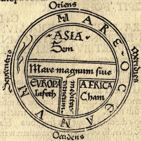 Իսիդոր Սևիլյացի, «Ստուգաբանություն», տպագրվել է Գյունտեր Ցայների կողմից, Աուգսբուրգ, 1472թ.