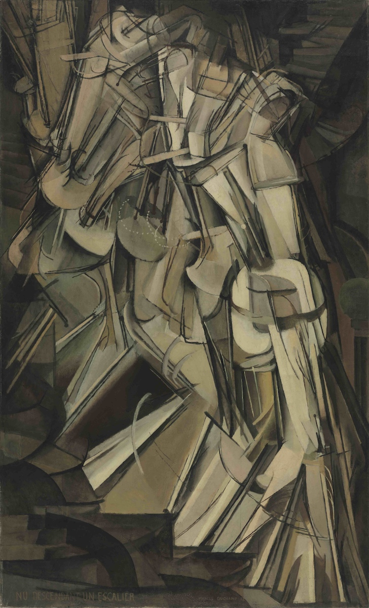 Marcel Duchamp, »Nu descendant un escalier (No. 2)« , 1912