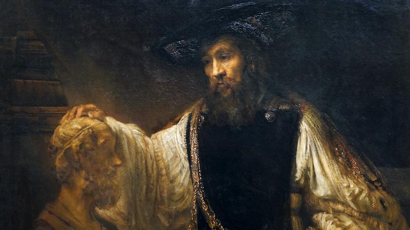 Image result for homer aristotle