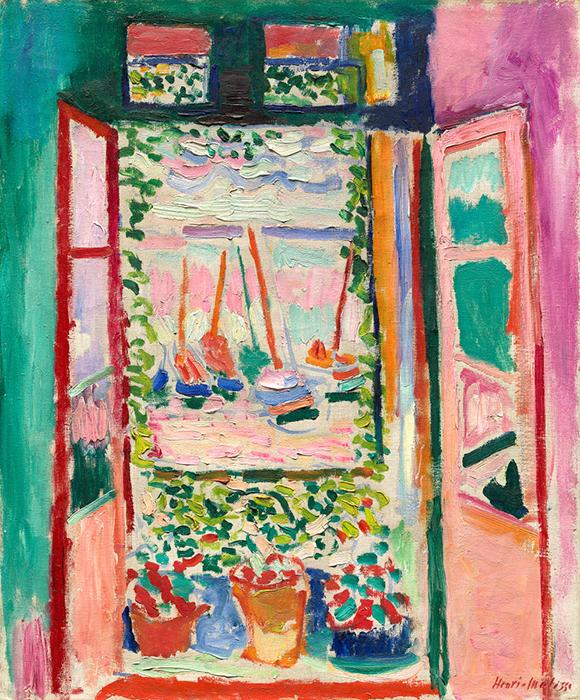 Henri Matisse  Open Window 1905  National Gallery of Art, Washington Fauvism