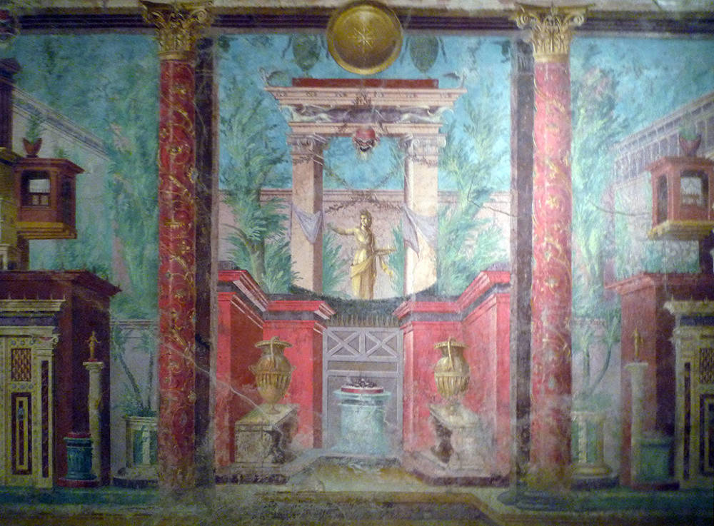 Roman wall painting styles roman article khan academy for Ancient roman mural