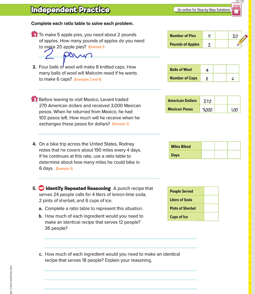 Worksheets Ratio Tables Worksheets equivalent ratio word problems practice khan academy
