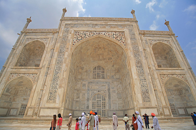 Taj Mahal, Agra, India, 1632-53, photo: LASZLO ILYES (CC BY 2.0)