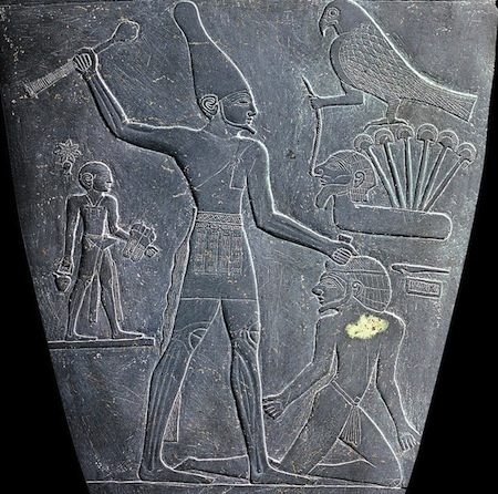 Palette of Narmer (detail)