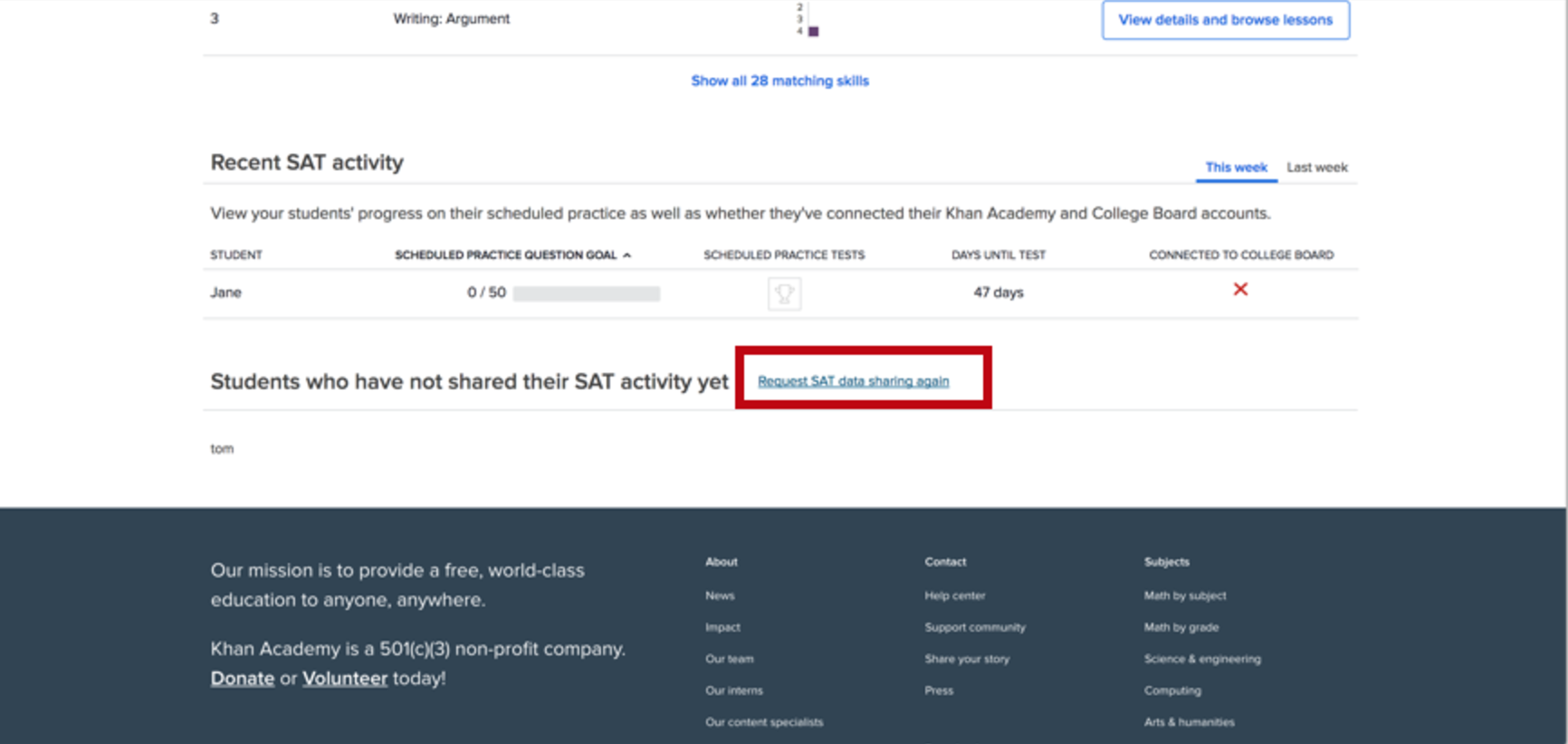 Official SAT Practice coach tools FAQ (article) | Khan Academy