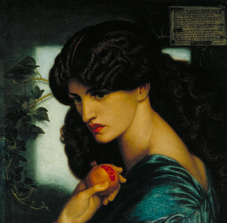 Image result for Rossetti's Proserpine