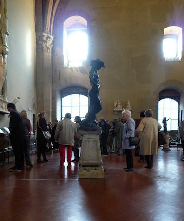 Donatello, David, circa 1440, bronze, 158 cm (Museo Nazionale de Bargello, Florence)