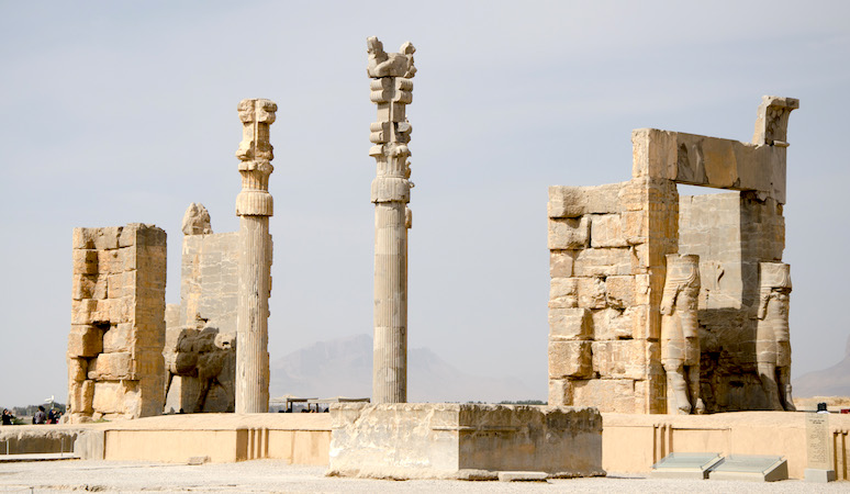 Apadana, Persepolis, photo: Matt Werner (CC BY-NC-SA 2.0)