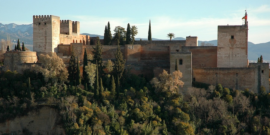 The Alhambra, Spain, photo: Mirari Erdoiza (CC BY-NC 3.0)