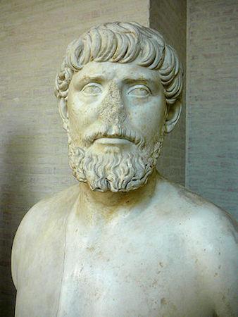 Portrait considered to be that of Apollodorus of Damascus (Munich Glyptothek) (photo: Gun Powder Ma, CC BY-SA 3.0)