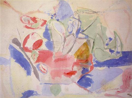Helen Frankenthaler The Bay Article Khan Academy